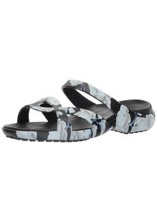 Crocs Women's Meleen Twist Graphic Sandal Flat   M US