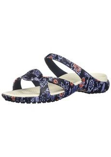 Crocs Women's Meleen Twist Graphic Sandal Slide   M US
