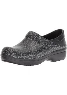 crocs Women's Neria Pro II Graphic Clog W Shoe black/dots W
