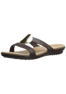 crocs Women's Sanrah Embellished Sandal   M US