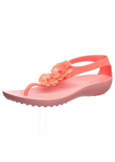 Crocs Women's Serena Embellish Flip Flop   M US