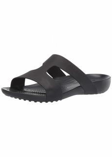 Crocs Women's Serena Slide Sandal Black  M US