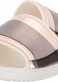Crocs Women's Sloane MetalBlock Slide Sandal   M US