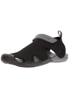 Crocs Women's Swiftwater Mesh Sandal Sport   M US