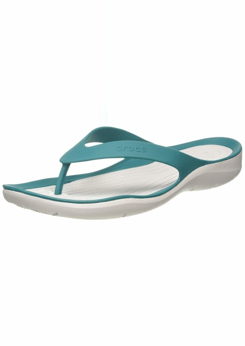 Crocs Women's Swiftwater Ombre Flip Flop   M US