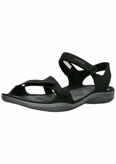 Crocs Women's Swiftwater Webbing Sandal Sport   M US