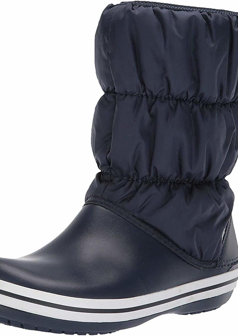 crocs Women's Winter Puff Boot Mid Calf   M US