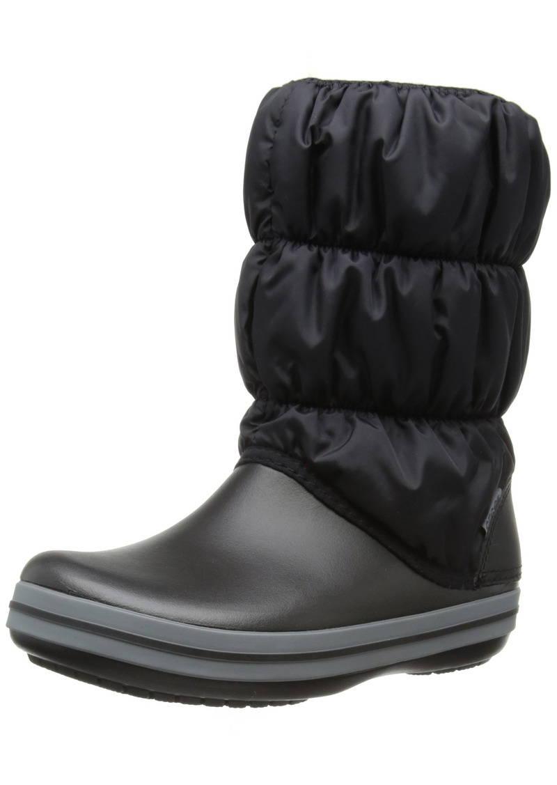 crocs Women's Winter Puff Boot Wom Snow Boot   M US