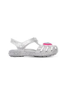 Crocs Glittered Rubber Sandals