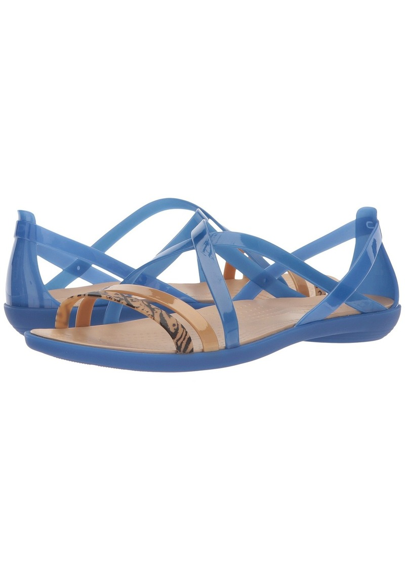 9d1204770d45 On Sale today! Crocs Isabella Graphic Strappy Sandal
