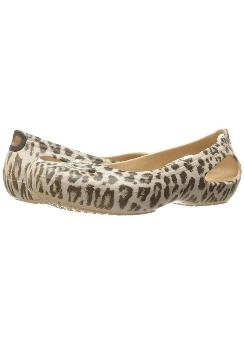 1c60c5480f1927 Crocs Kadee Graphic Flat