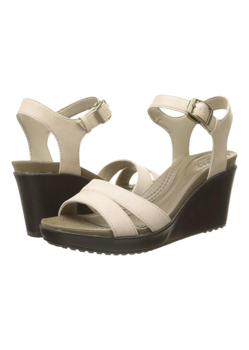 b349654e876b Crocs Leigh II Ankle Strap Wedge