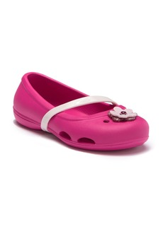 Crocs Lina Charm Flat (Toddler & Little Kid)