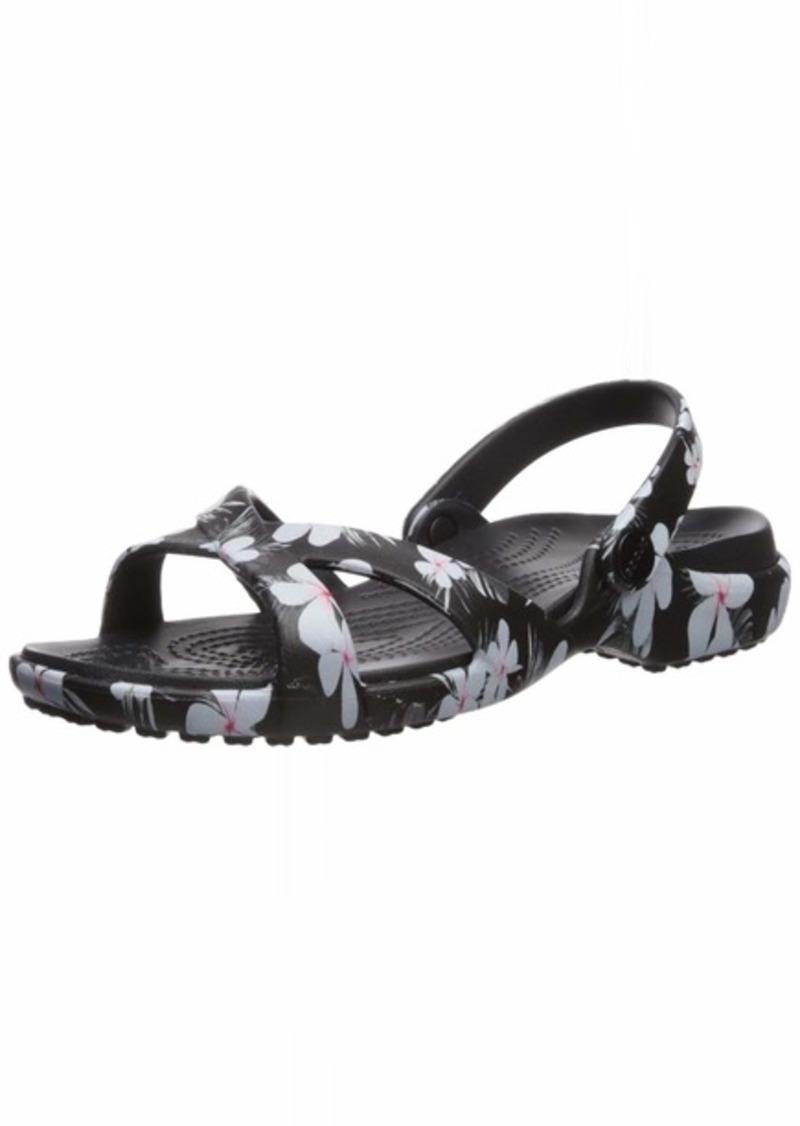 Crocs Meleen Crossband Graphic Slide Sandal   M US