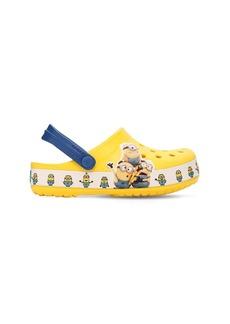 Minion Embossed Rubber Crocs