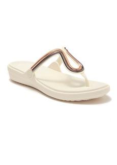 Crocs Sanrah Metal Block Sandal