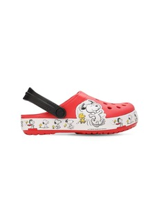 Snoopy Embossed Rubber Crocs
