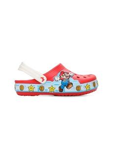 Super Mario Embossed Rubber Crocs