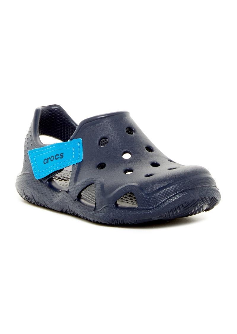 Crocs Swiftwater Wave Slip-On Sneaker (Toddler & Little Kid)