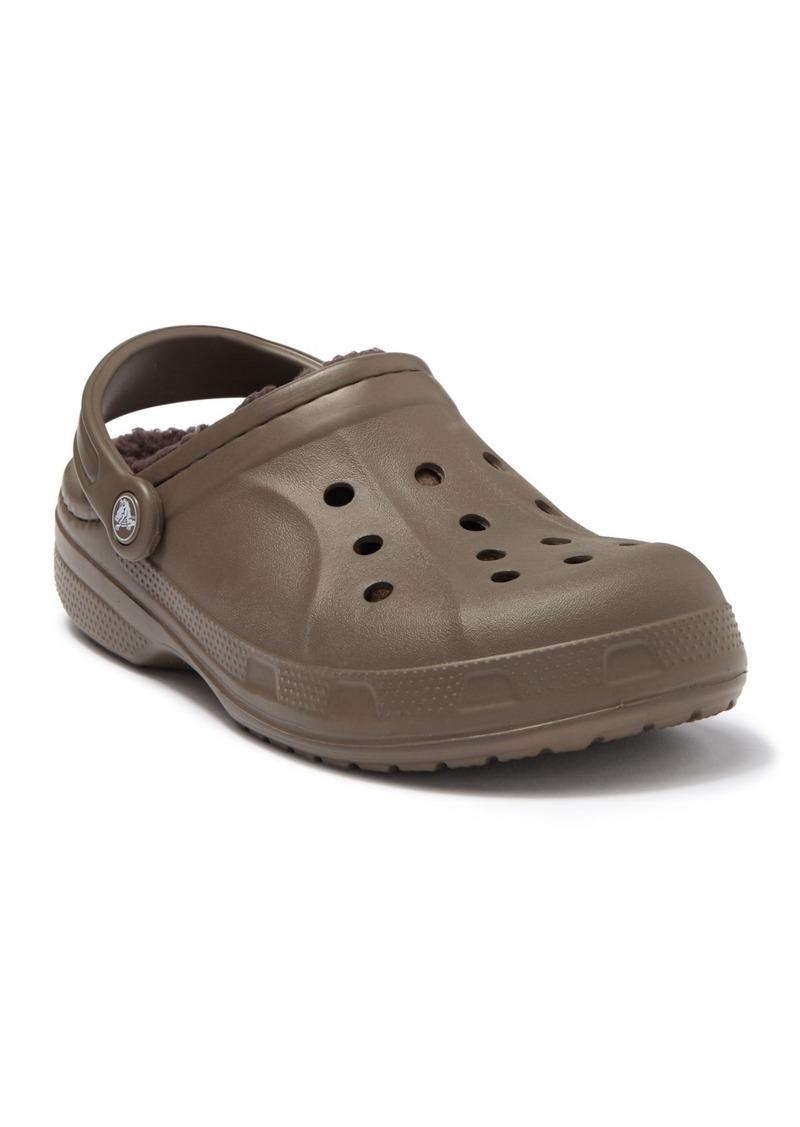 Crocs Winter Faux Shearling Lined Clog