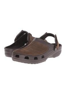Crocs Yukon Mesa Leather Trim Clog