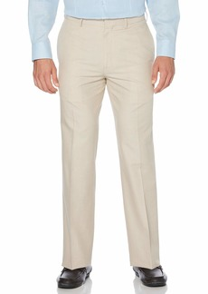 Cubavera Men's Big and Tall Cotton Herringbone-Textured Pant  54W X 32L