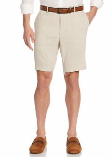 Cubavera Men's Blend Flat Front Shorts