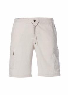 Cubavera Men's Drawstring Linen Cargo Short