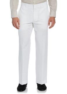 Cubavera Men's Easy Care Linen Blend Flat Front Pant  38x34