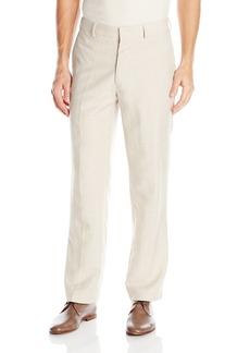 Cubavera Men's Easy Care Linen Blend Flat Front Pant  38x30