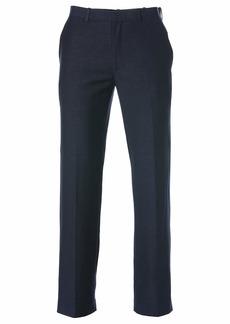 Cubavera Men's Easy Care Linen-Blend Flat-Front Pant