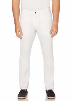 Cubavera Men's Linen-Blend 5-Pocket Pant with Stretch