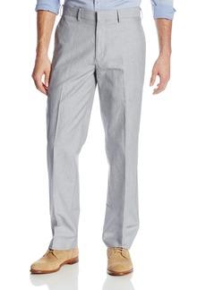 Cubavera Men's Linen Cotton Herringbone Textured Pant  32x30