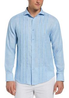 Cubavera Men's Long Sleeve Triple Tuck Emb Shirt