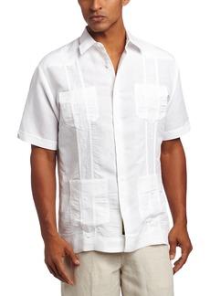 Cubavera Men's Short Sleeve Embroidered Guayabera