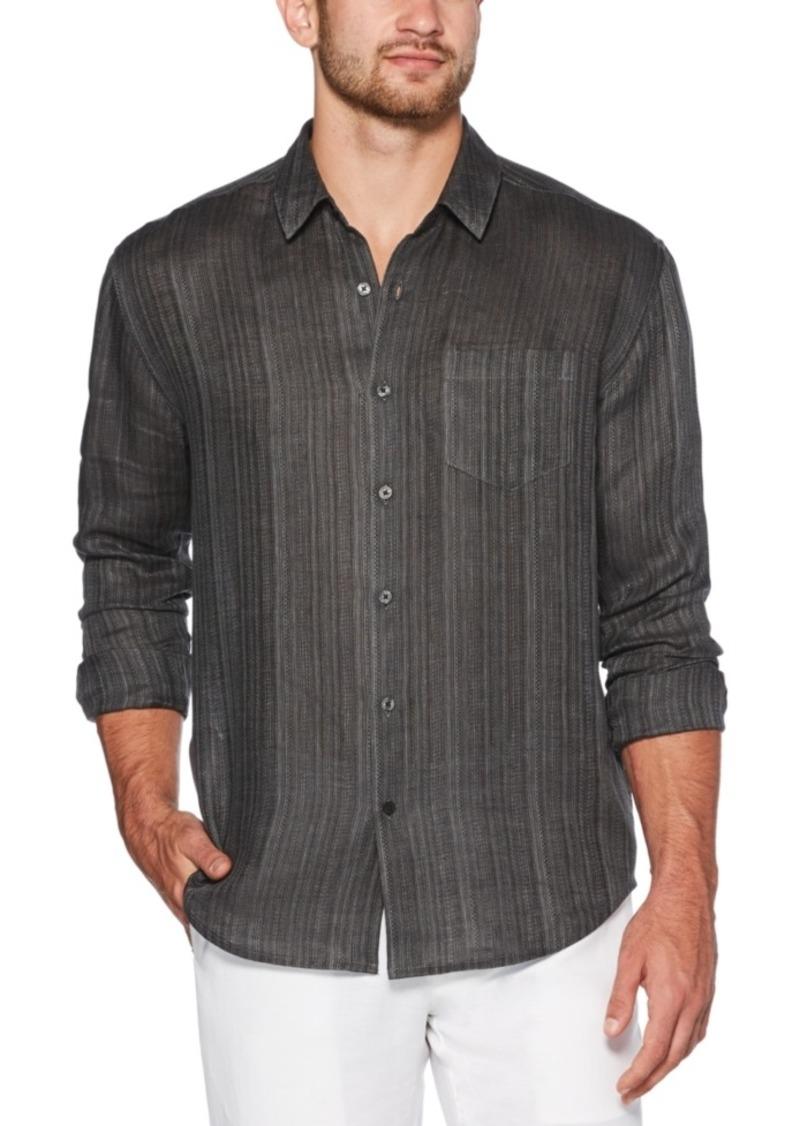 Cubavera Men's Solid Linen Shirt