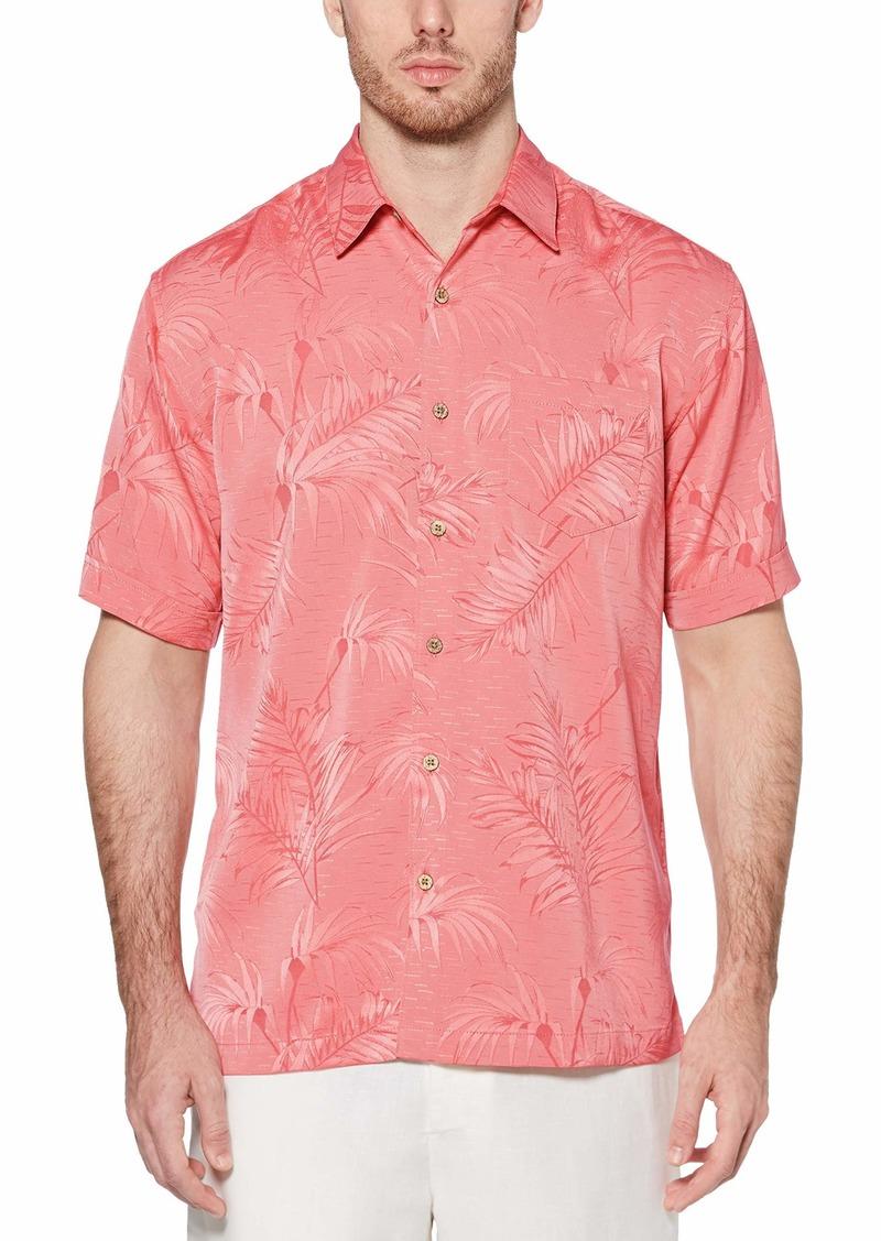 Cubavera Men's Subtle Floral Jacquard Shirt
