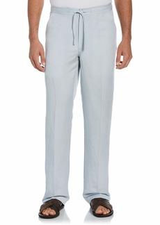 Cubavera Men's Drawstring Linen-Blend Pant with Back Elastic Waistband   x 32L