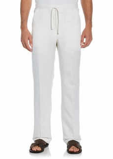 Cubavera Men's Drawstring Pant with Back Elastic Waistband   x 32L.