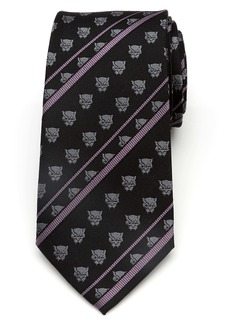 Cufflinks Inc. Cufflinks, Inc. Black Panther Stripe Silk Tie