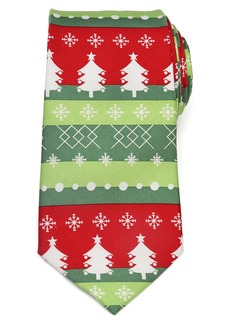 Cufflinks Inc. Cufflinks, Inc. Christmas Tree Silk Tie