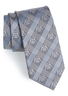 Cufflinks Inc. Cufflinks, Inc. 'Darth Vader' Plaid Silk Tie