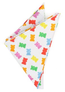 Cufflinks Inc. Cufflinks, Inc. Gummy Bear Cotton Pocket Square