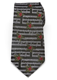 Cufflinks Inc. Cufflinks, Inc. Holly Music Note Silk Tie