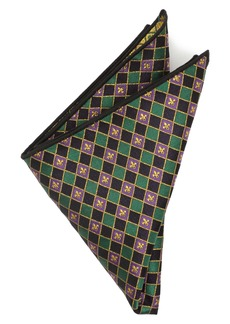 Cufflinks Inc. Cufflinks, Inc. Mardi Gras Pocket Square