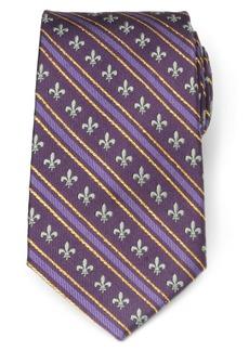 Cufflinks Inc. Cufflinks, Inc. Mardi Gras Stripe Silk Tie