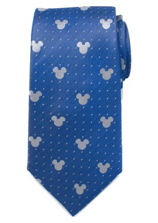 Cufflinks Inc. Cufflinks, Inc. Mickey Mouse Pin Dot Silk Tie
