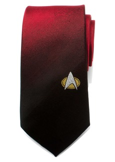 Cufflinks Inc. Cufflinks, Inc. Star Trek TNG Shield Silk Tie
