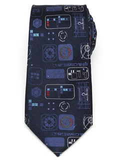 Cufflinks Inc. Cufflinks, Inc. Star Wars Episode 9 Silk Tie