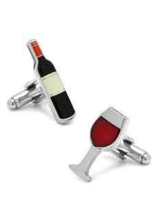 Cufflinks Inc. Cufflinks, Inc. Wine & Bottle Cuff Links